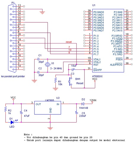 AT89S51 Programmer / Writer